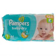 Pañal Desechable Etapa 1 Pampers Baby Dry 44 Und/Paq