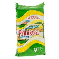 Galleta Club Sabor a Mantequilla Princesa 9 Und/Paq